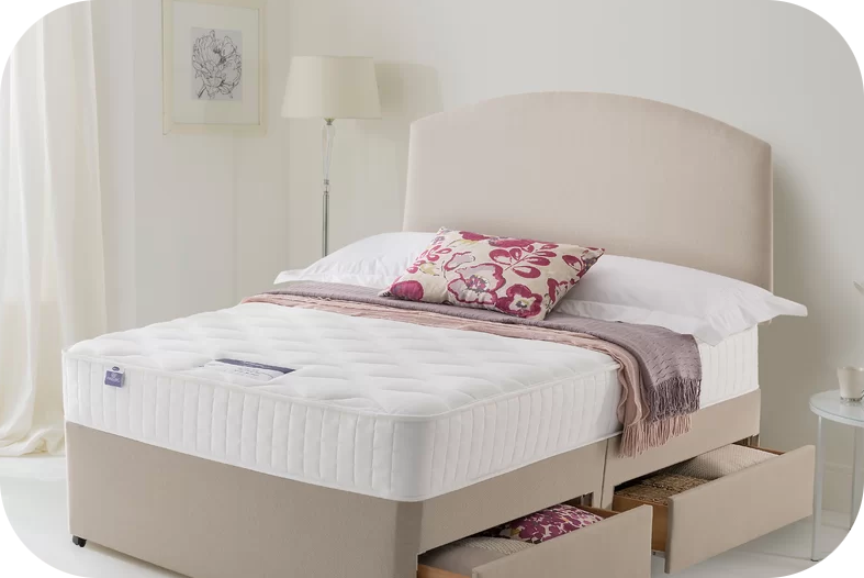 Slumberland Beds with various sizes
