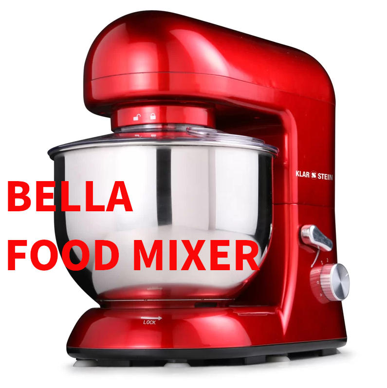 Bella Rossa 6-Speed 5.2L Stand Mixer by Klarstein
