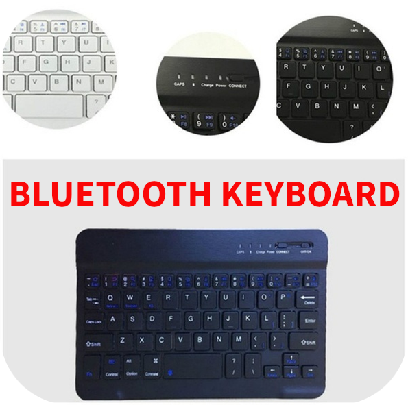 Aluminum Wireless Bluetooth Mini Keyboard For MAC IOS Android