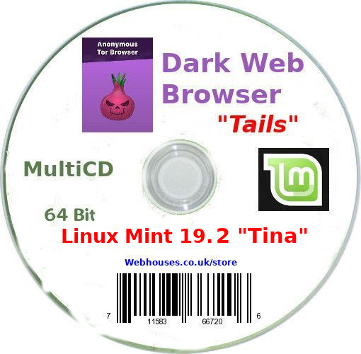 "Multi CD with Linux Tails and Linux Mint ""Tina"" - Click Image to Close"