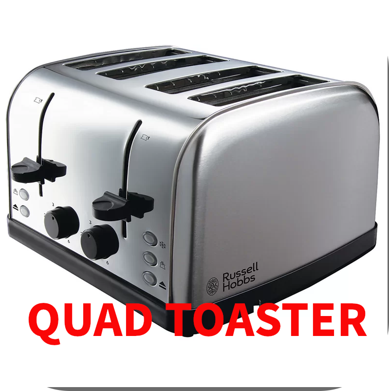 4-Slice Futura Toaster by Russell Hobbs
