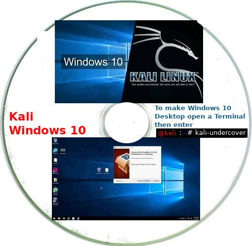 Kali Windows 10 Installation digital forensics and penetration. - Click Image to Close
